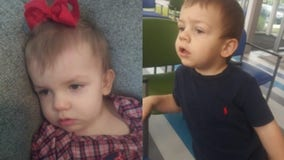 Officials find missing endangered toddlers safely in Tennessee