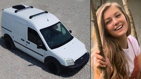 Gabby Petito's van spotted in stranger's footage at Grand Teton National Park, family believes