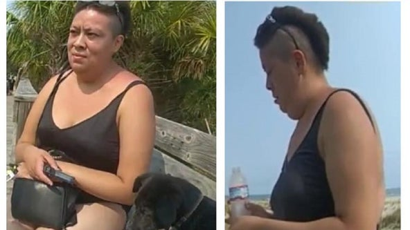 Woman wanted for tossing puppy into ocean along Georgia coast