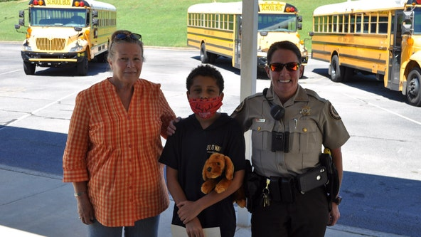 Fayette County fifth grader recognized for helping driver manage overcrowded school bus