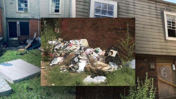 Atlanta police investigate apartments to find burned, boarded buildings