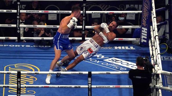 Boxer Lenin Castillo stretchered out of ring, hospitalized after KO