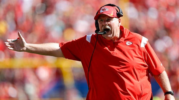 Kansas City Chiefs coach Andy Reid taken from Arrowhead Stadium to hospital