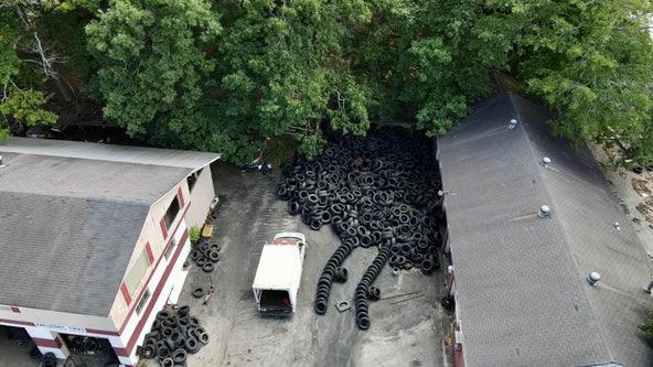 Tire storage creates health hazard for elderly neighbor