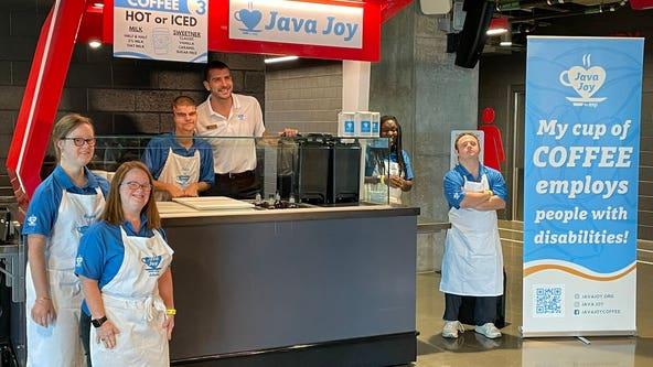 Java Joy serves coffee, empowers adults at Mercedes-Benz Stadium
