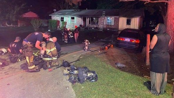 Neighbor saves sleeping homeowner from DeKalb County fire