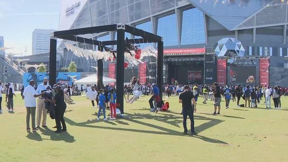 Atlanta Public Schools celebrates democracy curriculum with event at Mercedes-Benz Stadium