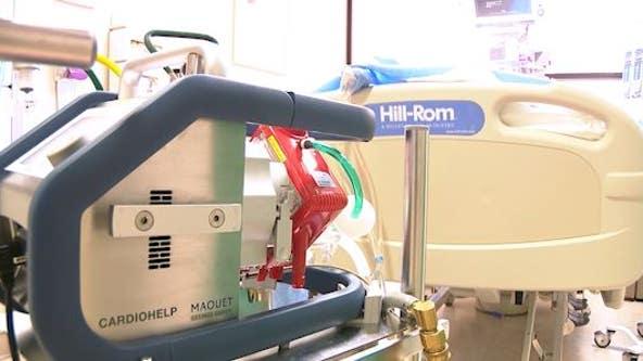 'All the machines are in use': Respiratory device needed for COVID-19 patients in short supply