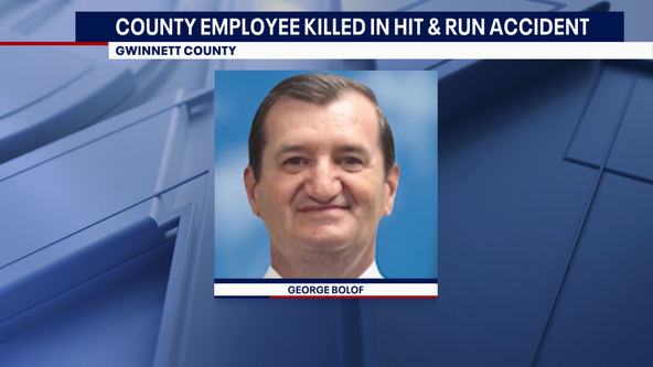 Gwinnett County worker killed in hit and run, driver charged with DUI