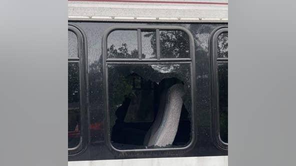 Bus vandalized at kids club in East Atlanta