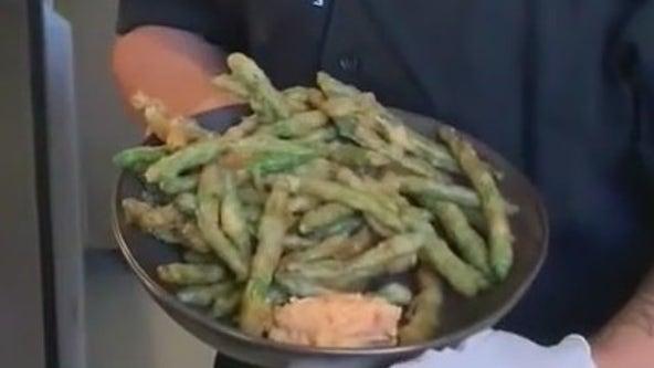 Carson Kitchen's Tempura Green Bean recipe
