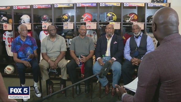 'The Five' of Georgia football reflect on 50th anniversary of integration