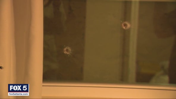 'I just started praying and closed my eyes': DeKalb home shot up more than 50 times
