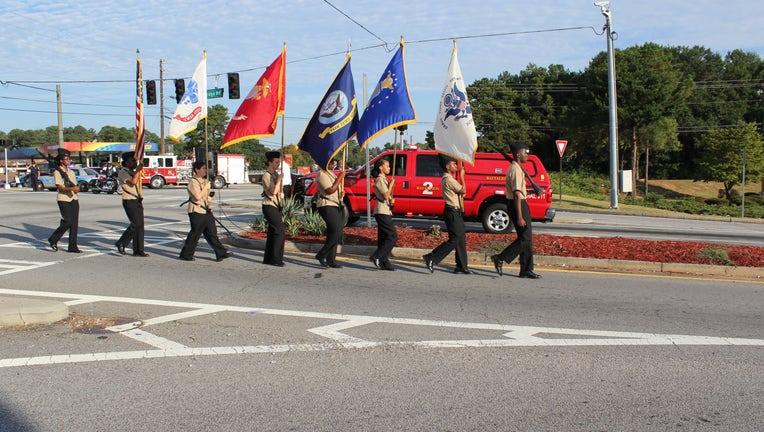 Stockbridge September 11th Ceremony