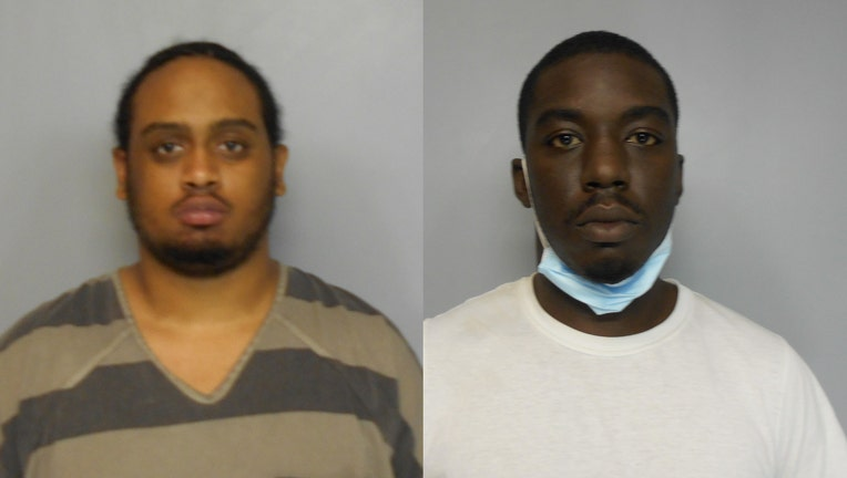 Brandon A. Massey (left) and Jamal Clifford Davis (right)