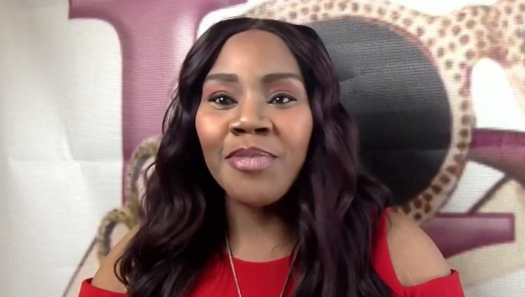 Gospel singer Kelly Price on Good Day Atlanta on April 2, 2021.