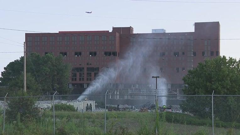 airport Sheraton demolition