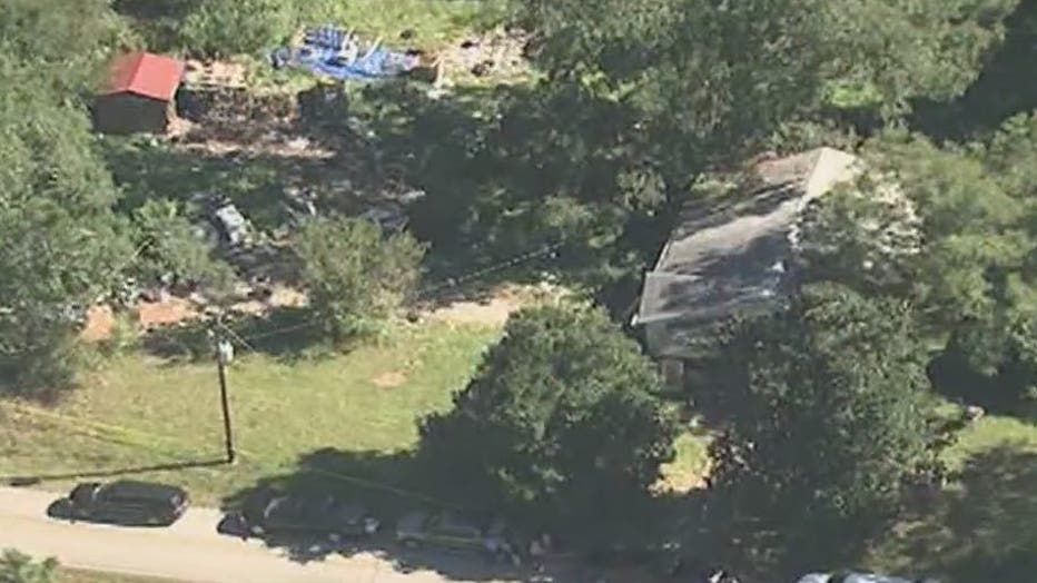 A body was found in the front yard of a Coweta County home sparking a death investigation on Sept. 24, 2021