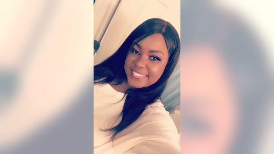 Brittany Starks, a single mom of two, dedicates her time to braiding children's hair in Nashville, Tennessee, for free. (Brittany Starks)