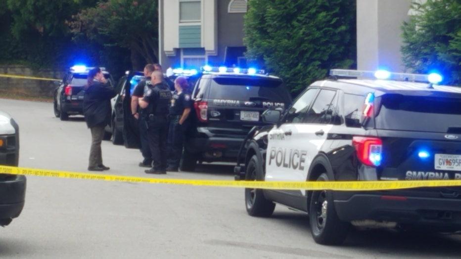 Shooting involving an officer in Smyrna