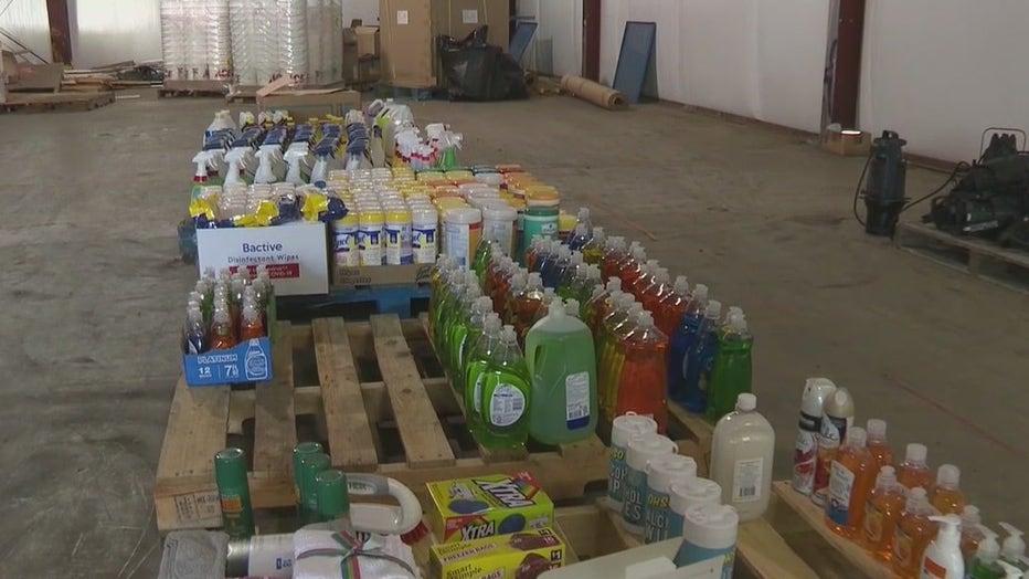 Floyd County Deputies hurricane ida