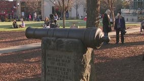 DeKalb County votes to remove Indian War cannon monument from Decatur Square