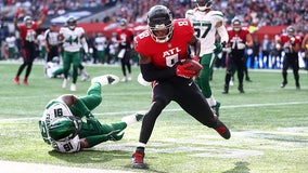Kyle Pitts scores first pro TD in Falcons' overseas win vs. Jets