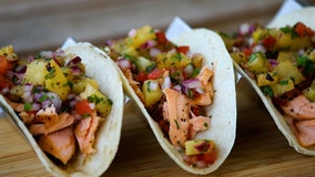 Taste of TNF recipe: Salmon tacos with pineapple