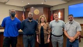 Cobb County judge congratulates drug treatment program graduates