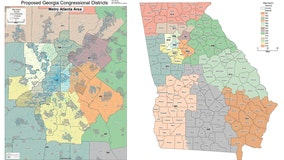 Democrats seek 7-7 party split in Georgia congressional map