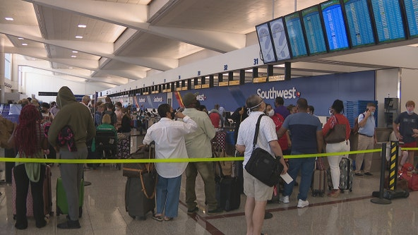 Travelers in Atlanta frustrated by surge of Southwest Airlines cancelations