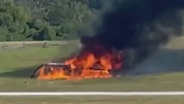 'It happened pretty fast': 4 dead in fiery small plane crash at PDK, fire officials say