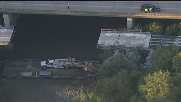 Three rescued after bridge under construction in Newton County collapses