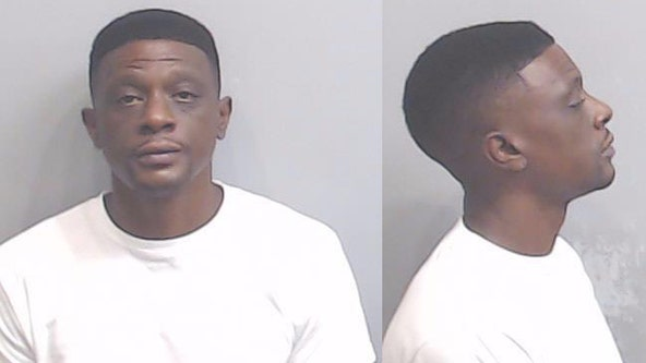 Rapper Boosie arrested, accused of property damage at State Farm Arena