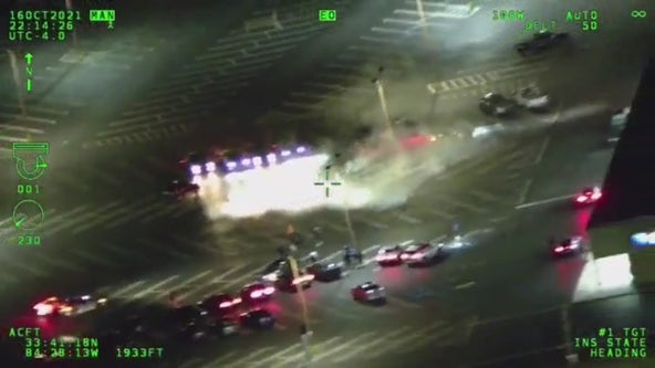 Video shows street racers trying to flee Georgia State Patrol troopers in East Point