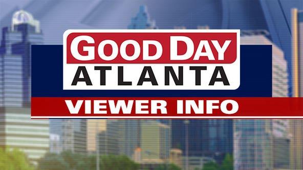 Good Day Atlanta viewer information: October 26, 2021