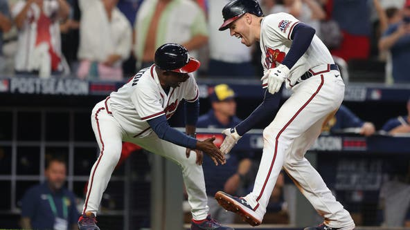 Freeman clinches NLDS victory over Brewers, Braves advance