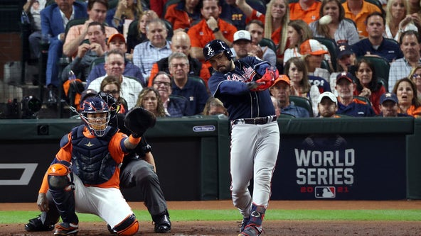Live Updates World Series Game 2: Big 2nd inning has Astros leading Braves 5-1