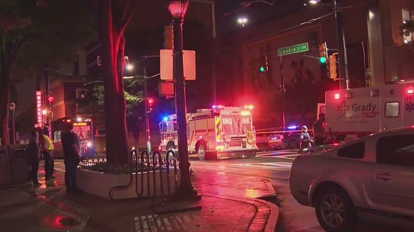 Man killed, reserve police officer injured in Downtown Atlanta shootout