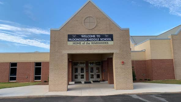 McDonough middle school student stabbed to death in fight, police say