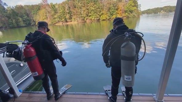 Diving team finds hidden treasures lurking in Lake Lanier's dangerous waters