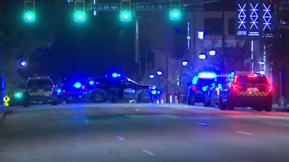 Gunman on the run after firing at Atlanta police officers in Midtown