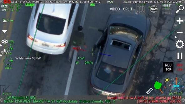 Air pursuit leads to the arrest of double homicide suspect