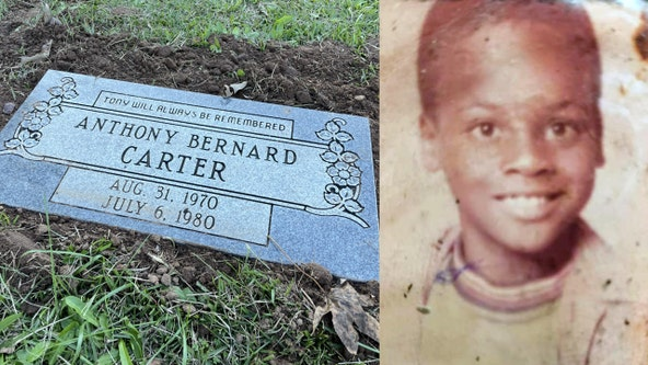 'It gives Tony back the love, his dignity, and respect': Atlanta child murder victim gets a headstone