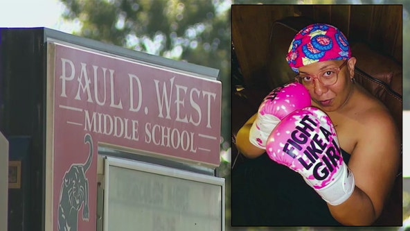 East Point rallies behind principal battling stage four cancer