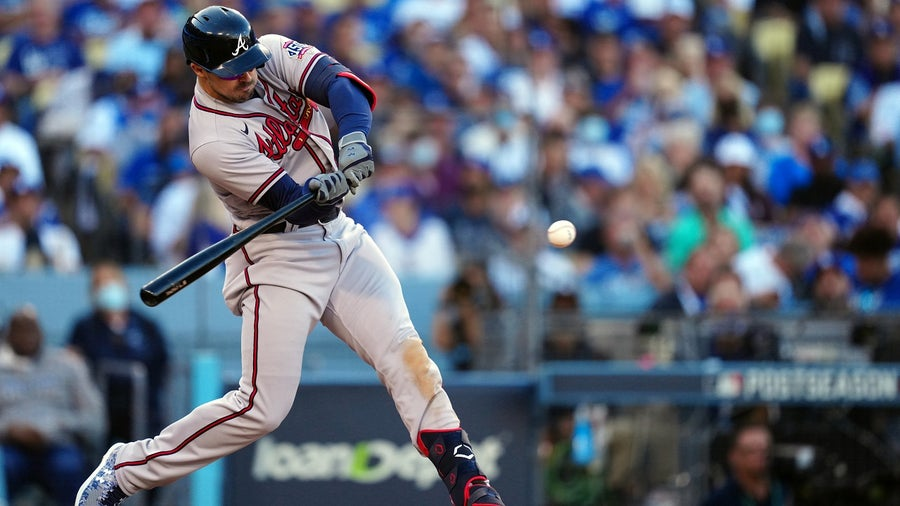 Dodgers rally back late, beat Braves 6-5 in Game Three of NLCS