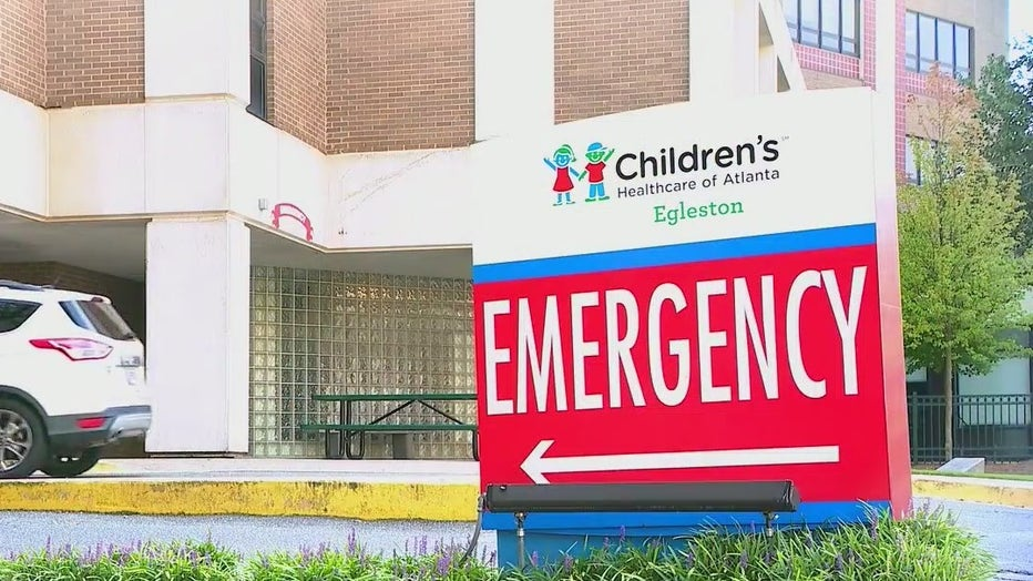 Children's Healthcare of Atlanta has since a significant rise in patients during the COVID-19 pandemic.
