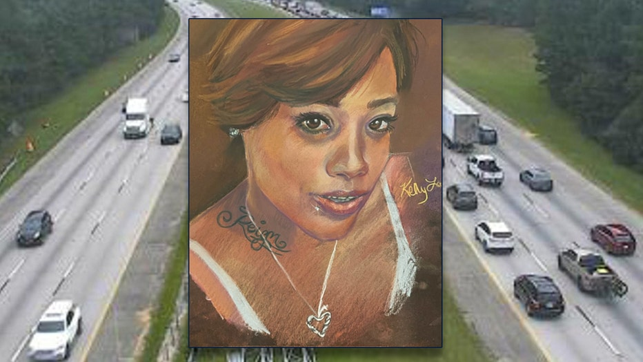 Clayton County police release this sketch of a woman who was found shot to death along I-675.