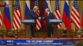 Trump, Putin hold joint press conference at Helsinki Summit