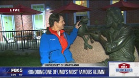 Jim Henson & Kermit Statue | The University of Maryland | FOX 5 College Tour